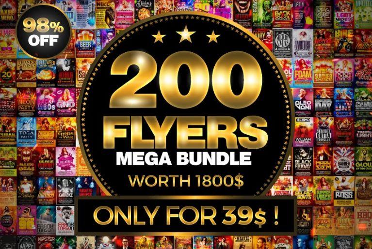Mega Flyer Templates Bundle Pack