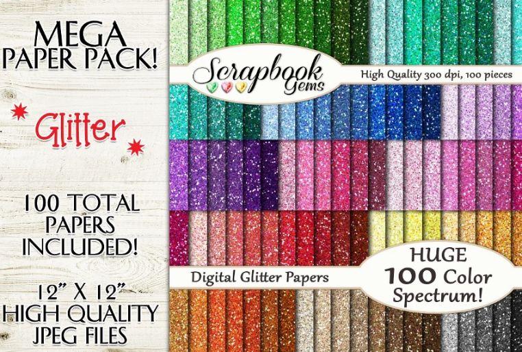 Mega Glitter Backgrounds
