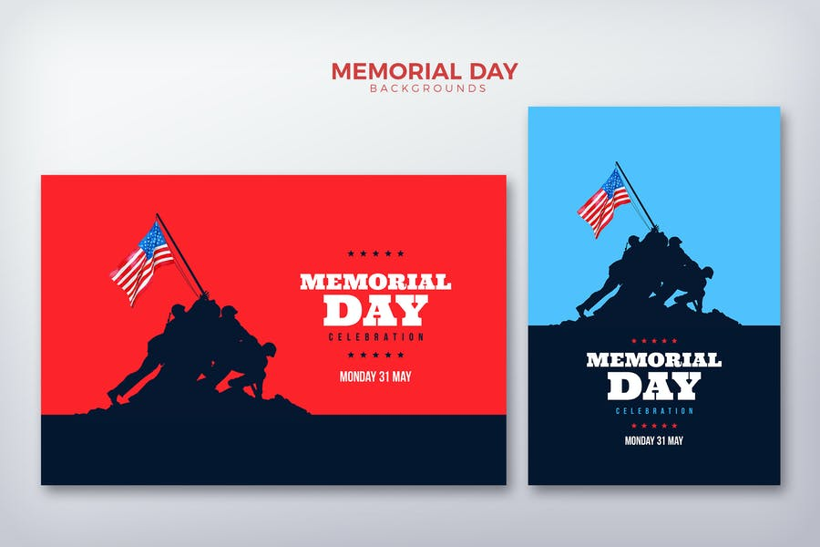 Memorial Day Card Background