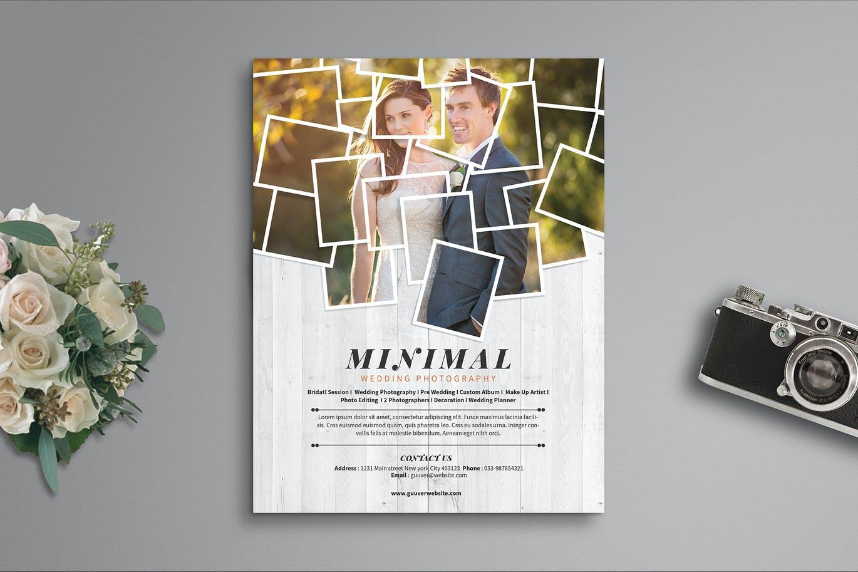 Minimal Wedding Flyer Template