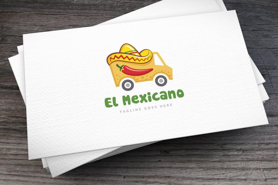 Mixican Food Truck Logo