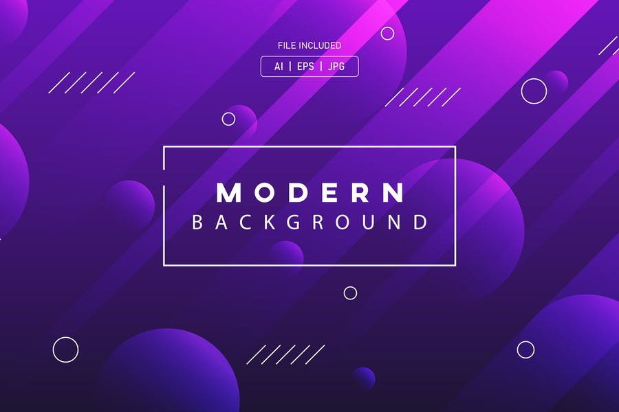 Modern Geometric Style Background