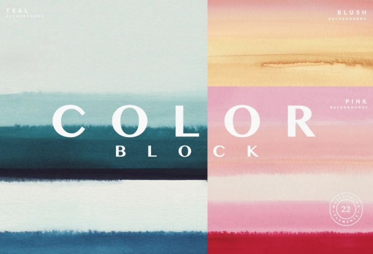 Modern Watercolor Backgrounds
