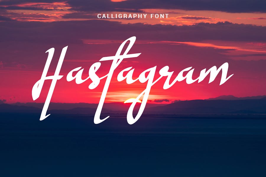 Modern and Fresh Calligraphy Fonts