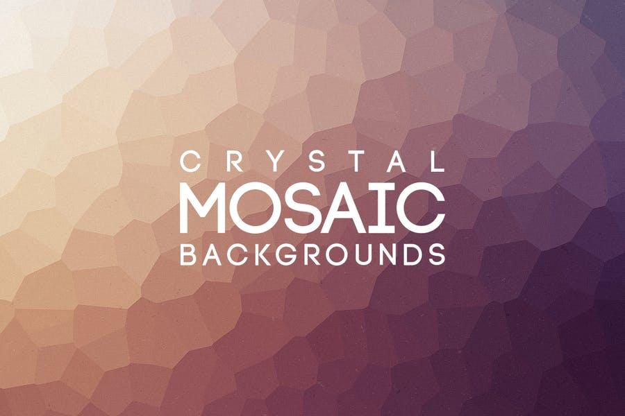 Mosaic Style Background Design