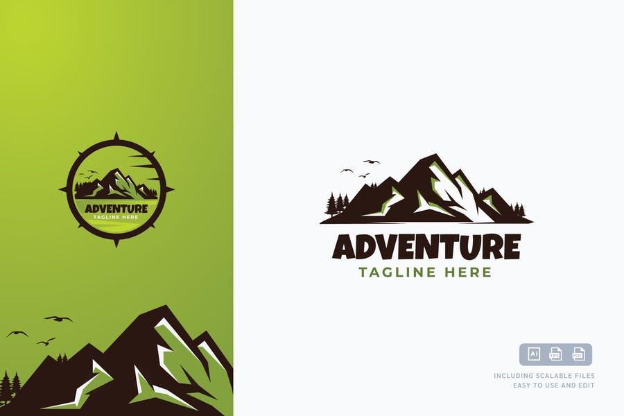 Mountain Style Logo Desin