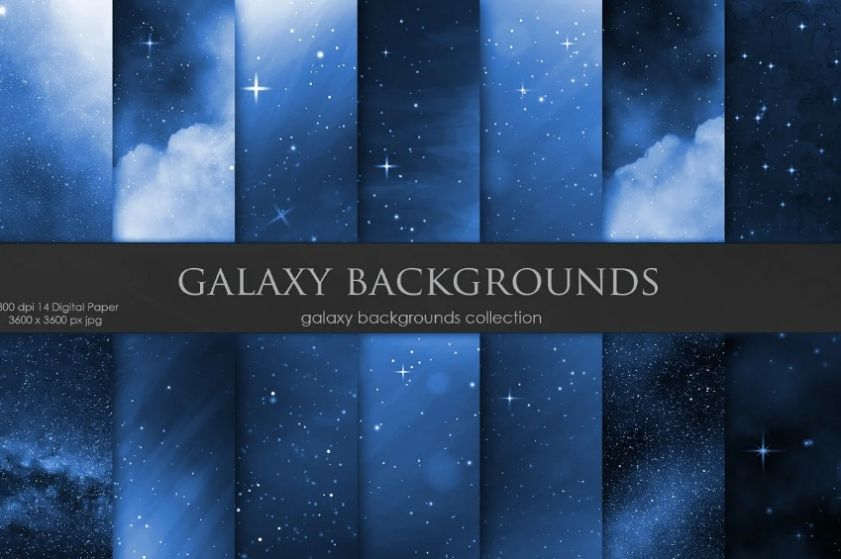 Navy Blue Galaxy Wallpapers