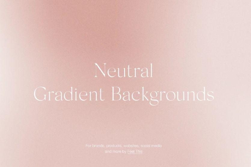 Neutral Grainy Background Design