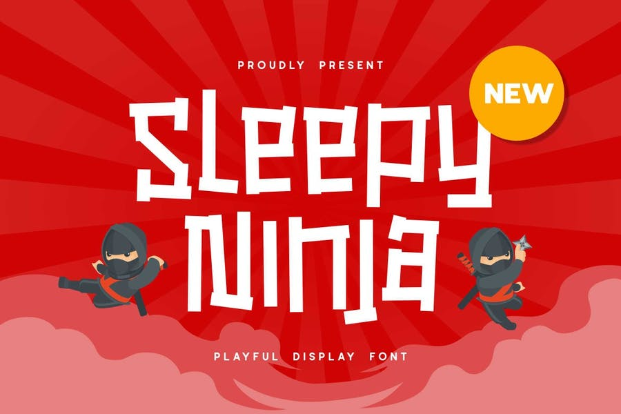 Ninja Style Typeface for Posters