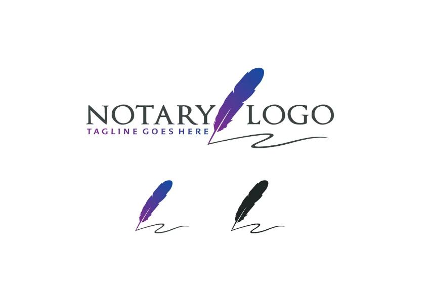 Notary Vector Logo