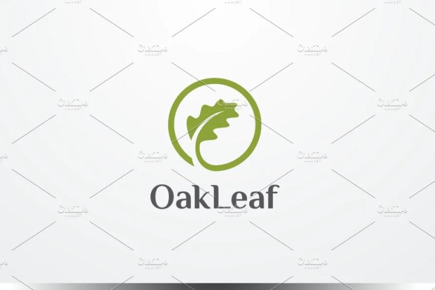Oak Leaf Branding Template