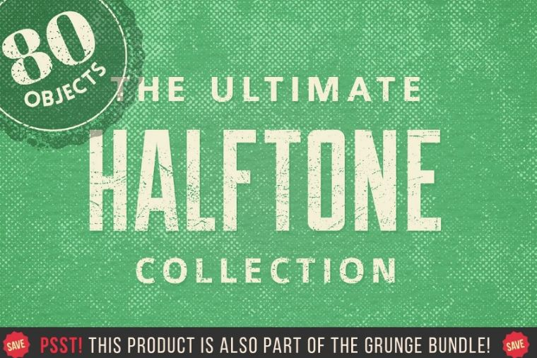 Old Halftone Grain Texture
