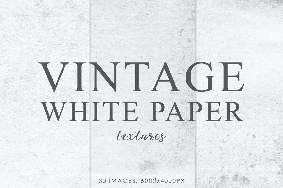 Old White Paper Backgrounds
