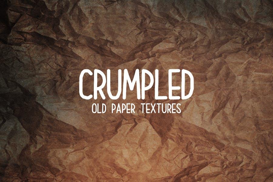 Old Wrinkle Paper Backgrounds