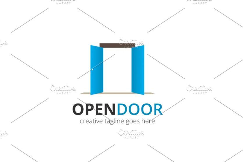 Open Doors Logo Design