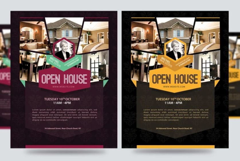 Open House Promotional Template
