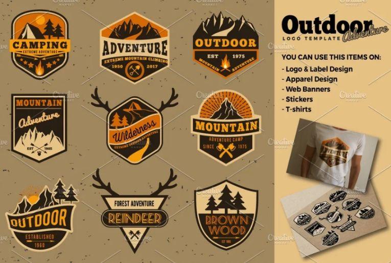 Outdoor Camping Logo Designs