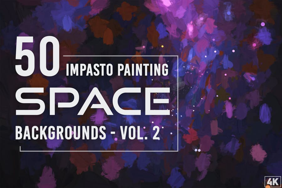 Painting Space Backgrounds