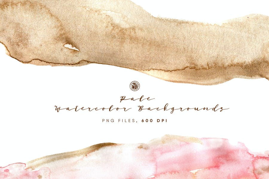 Pale Style Watercolor Backgrounds