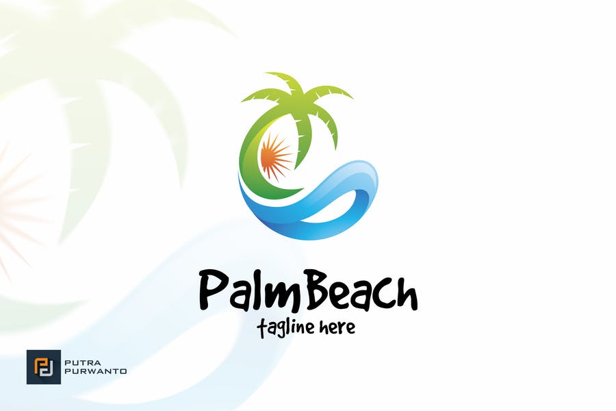 Palm Beach Logo Identity