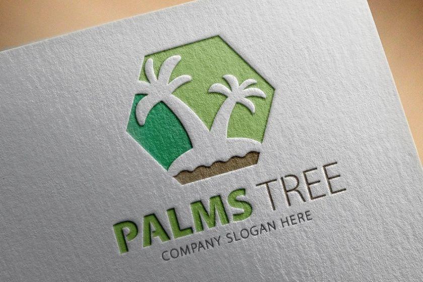 Palms Tree Logo Designs
