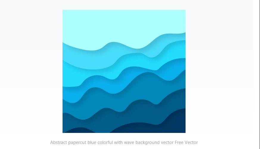 Papercut Wave Backgrounds