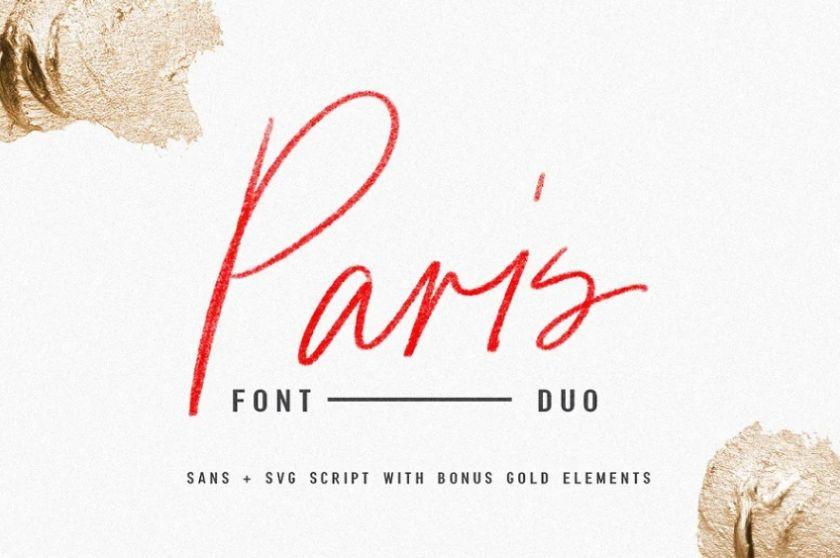 Pencil Textured Stroke Fonts