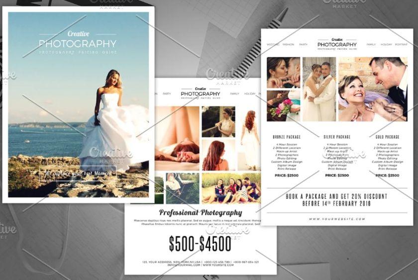 Photography Marketing Flyer Template