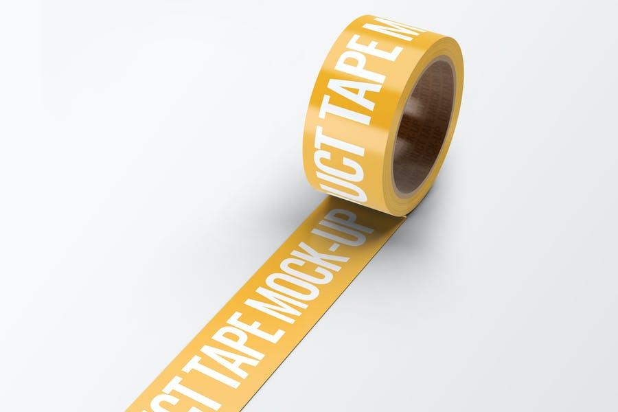 Photorealistic Tape Design Mockup