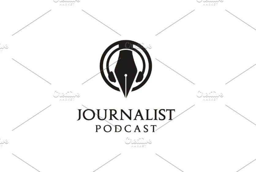 Podcast Style Logo Design Template