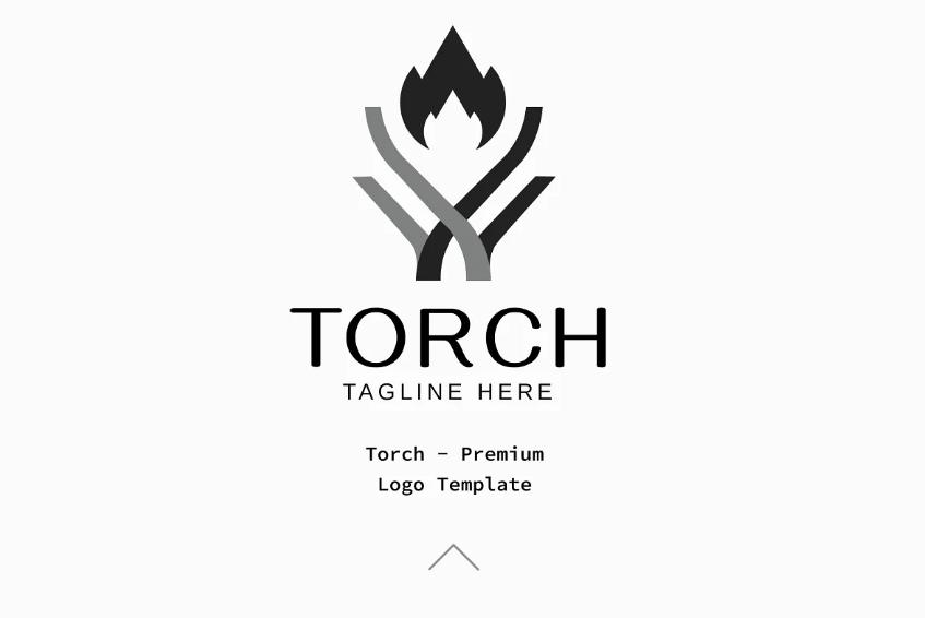 Premium Torch Identity Design