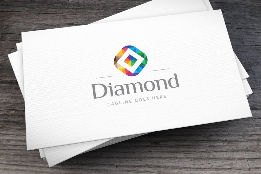 Print Ready Diamond Logotype