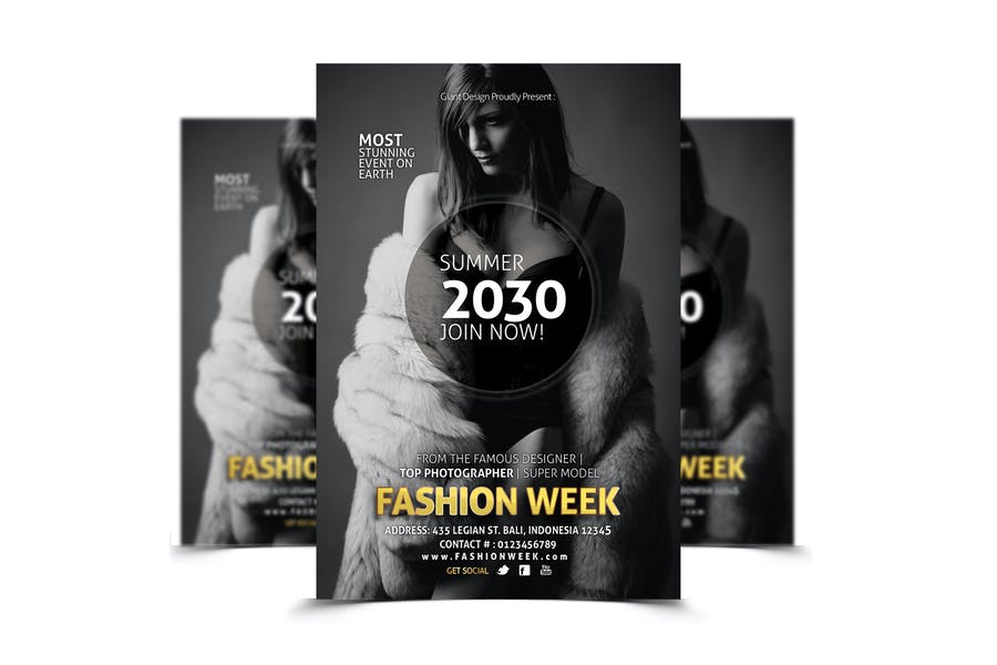 Print Ready Fashion Flyer