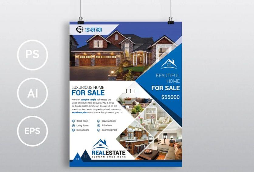 Print Ready Home Sale Flyer
