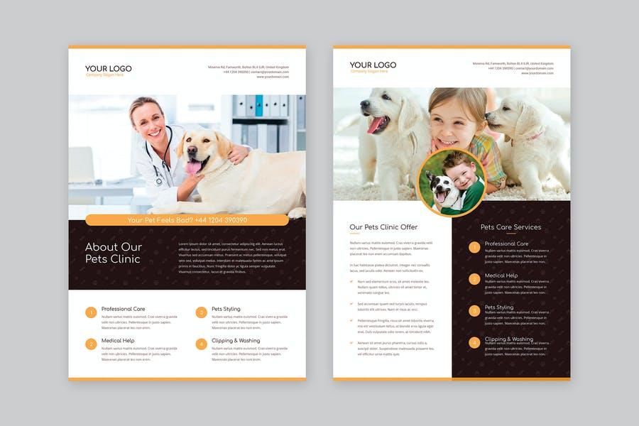 Print Ready Pet Business Flyer