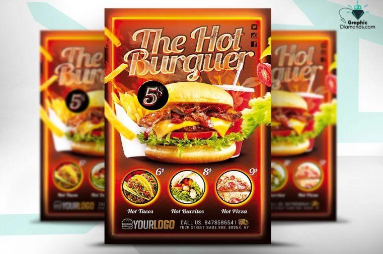Printabe Fast Food Fyer Design (1)