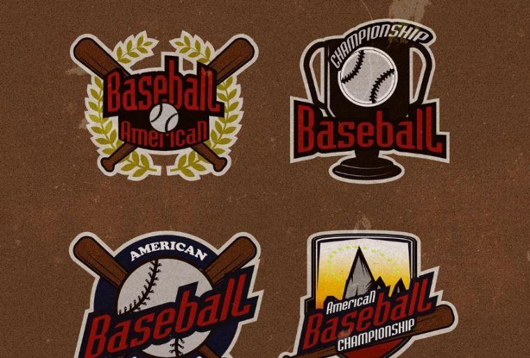Professional Baseball Tournaent Logos