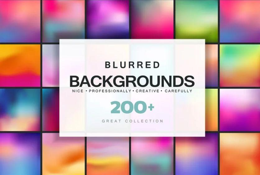 Professional Blurred Background Set