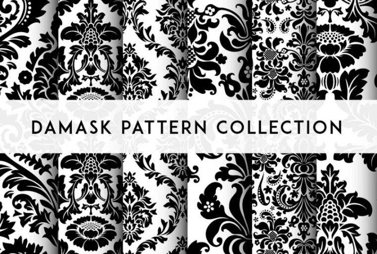 Professional Damask Design Pattern