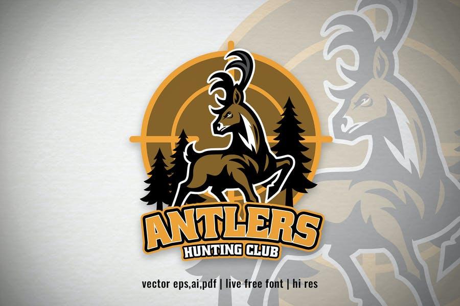 Professional Deer Mascot Logos
