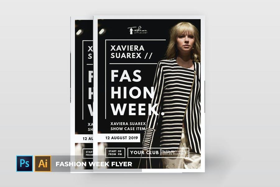 Professional Fashion Flyer