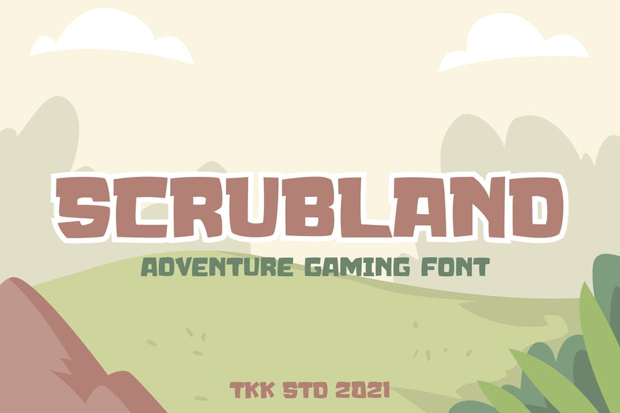 Professional Gaming Style Fonts