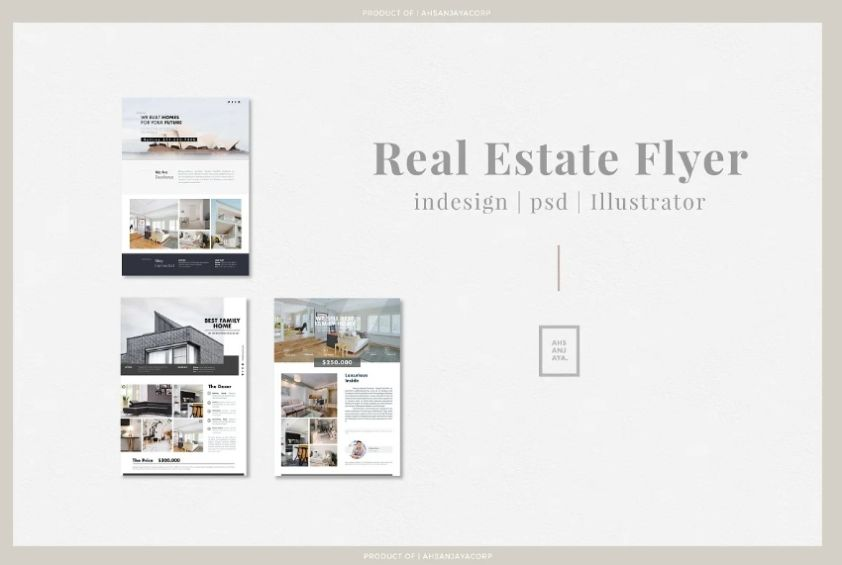 Professional House Flyer Templates