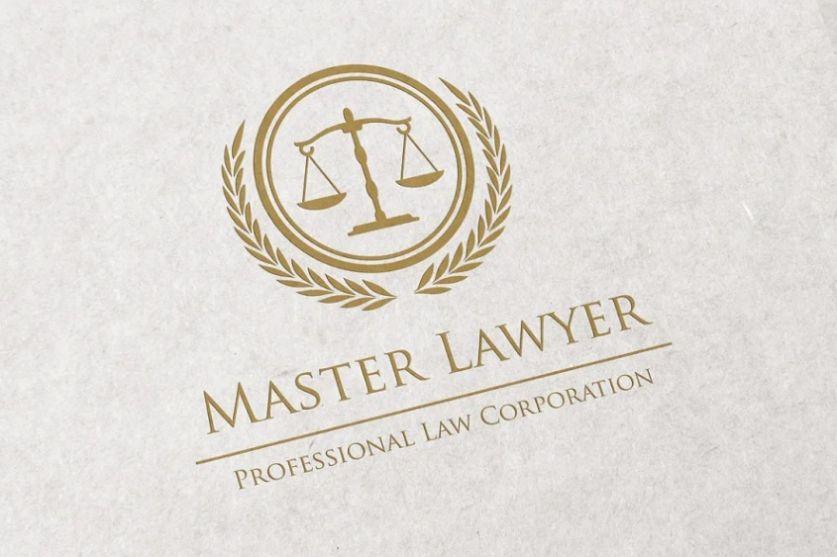 Professional Law Firm Logo Identity