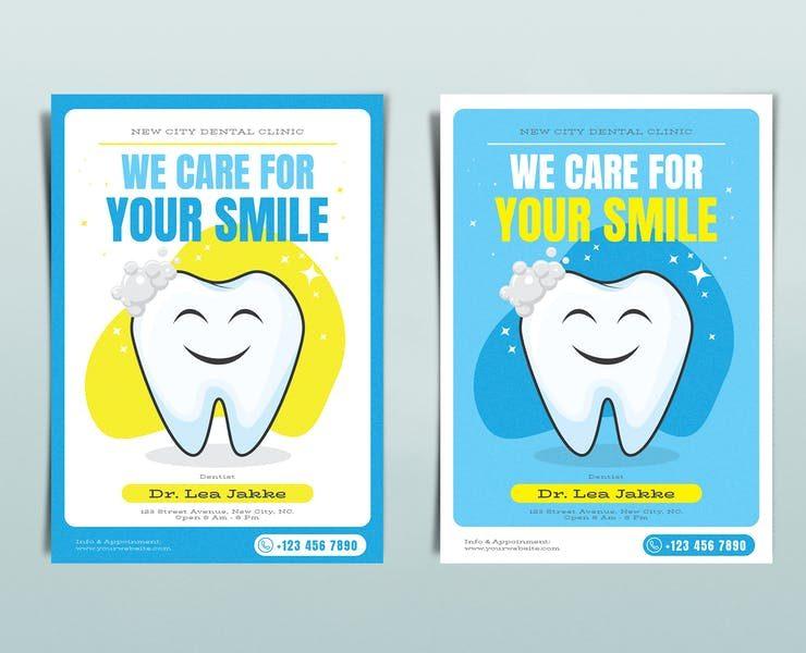 21+ FREE Dental Care Flyer Template Downloads