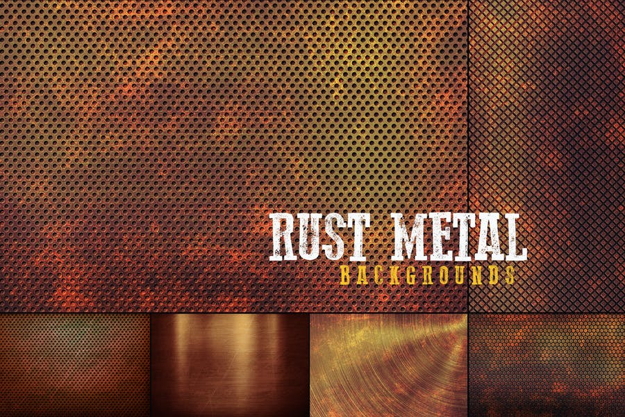 Professional Rust Metal Backgrounds