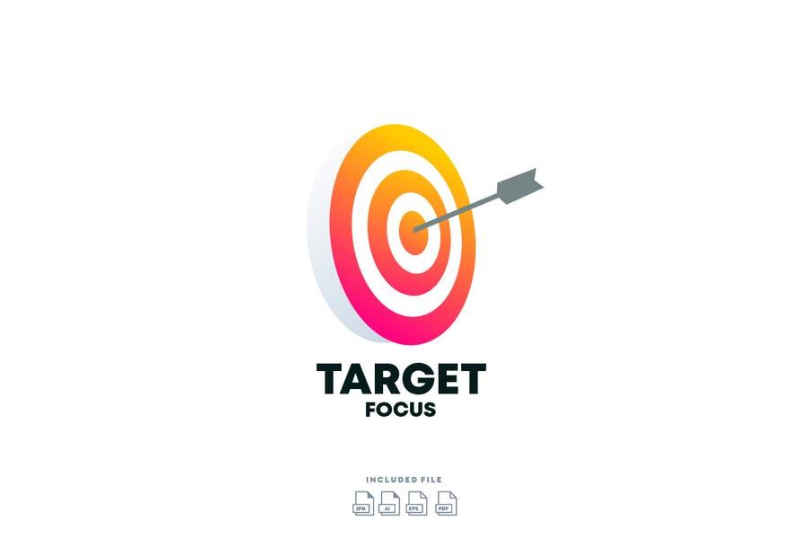 Professional Target Style Logotype