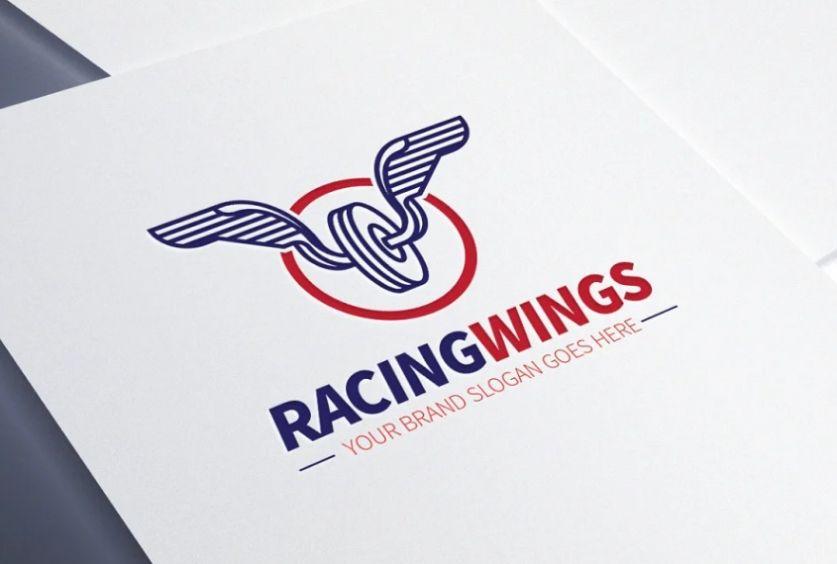 Racing Wings Logo Templates