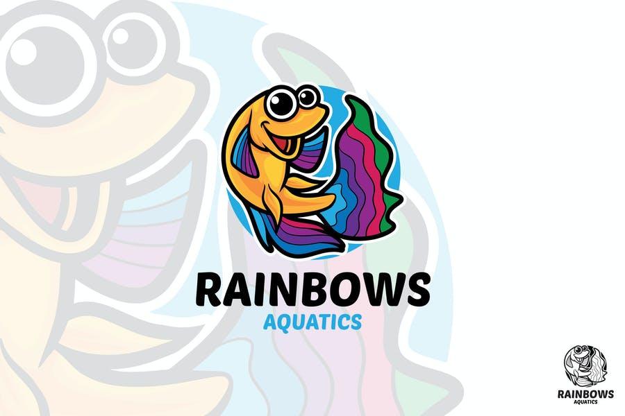 Rainbow Mascot Logotype
