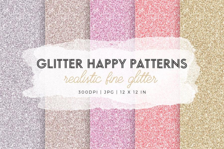 Realistic Glitter Patterns
